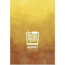 Poster Print Wall Art entitled Whiskey Sour