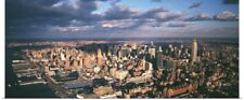 Poster Print Wall Art entitled Aerial Midtown Manhattan New York City NY