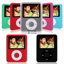 "8GB Player MP4 MP3 FM Radio Movies New Video Games 1.8"" LCD Screen"