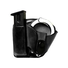 Bianchi 45 Mag By Cuff Paddle Holster, Plain Black, Size 02 BI19891