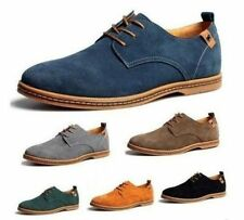 Male Fashion Suede European Style Oxfords Leather Shoes Men's Casual Best Gift