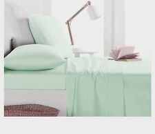 1000TC Egyptian Cotton DUVET COVER Sateen Solid Mint Green