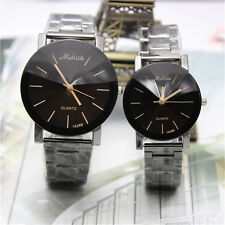 Hot Fashion Women Men Stainless Steel Watches Analog Quartz Sport Wrist Watch