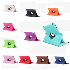 360 Rotating Leather Case Smart Cover Swivel Stand for iPad Mini 1 2 3 #YQ