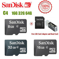 SanDisk 32GB 16GB 8GB Class 4 Micro SD Micro SDHC TF FLASH Memory Card Read card