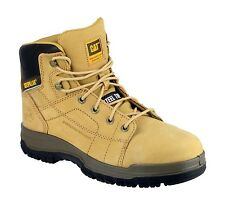 CAT Dimen Honey Safety Boots With Steel Toe Caps