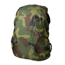Camping Hiking Rucksack Backpack Waterproof 25-40L Camouflage Rain Cover Poncho