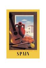 """Spain: Guitar And Oranges"" Print [ID 599040]"