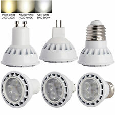 AU Dimmable LED Spot Light Bulb SMD3030 GU10/MR16/E27 9W White Lamp Ultra Bright