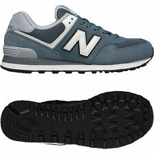 NEW BALANCE MENS 574 TRAINERS GREY 7 8 9 10 11 SMART CASUAL SNEAKERS SHOES SMART