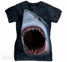 Shark Bite Women's T-Shirt from The Mountain - S-2X