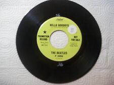 The Beatles - Hello Goodbye / I am the Walrus  45 USA Capitol Records Promo 7""