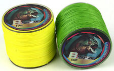 500M Super Strong Dyneema Spectra Extreme PE Braided Sea Fishing Line Green