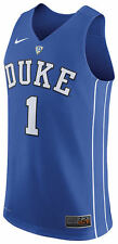 DUKE BLUE DEVILS BASKETBALL JERSEY-NIKE ELITE-STITCHED ALL SIZES-NWT-RETAIL $120