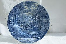 Blue and White Decorative Plate by Enoch Wedgewood