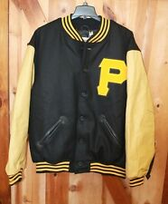 1960 Pittsburgh Pirates ~ Mitchell & Ness Leather Wool Jacket ~ 4XL or 5XL