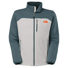 AuthenticThe North Face Momentum Jacket High Rise Grey Orange Men sz # CUA0 D4G