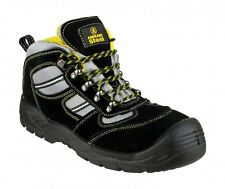 Amblers FS110 Safety Boots Black With Steel Toe Cap & Midsole