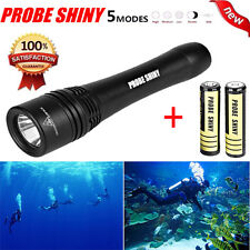 5000 Lm CREE XM-L T6 LED Powerful 60M Waterproof Underwater Diving Flashlight