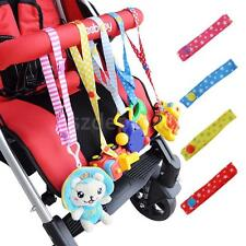 Adjustable Baby Stroller Accessory Bottle Toys Strap Belt Pacifier Holder Hanger