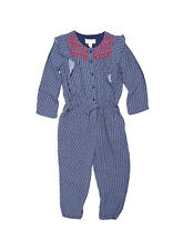 Pumpkin Patch Girls Embroidered Printed Playsuit