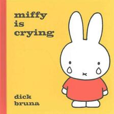 NEW Miffy Is Crying by Dick Bruna Hardcover Book Free Shipping