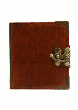 Plain Pattern Vintage Handmade Refillable Leather Journal / Diary / Notebook