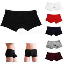 Mens Underwear Design Sexy Boxer Underpants Briefs Pouch Modal Soft Trunk