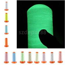 1000M Reel Bobbin Polyester Luminous Thread Embroidery Machine Quilting 150D/2
