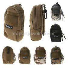 Men's Tactical Molle Pouch Belt Waist Bag Phone Medical Pocket Hiking Daypack