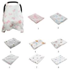 Baby Newborn Stroller Pram Car Seat Cover Breathable Cotton Sun Shade Canopy