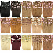 New Hair extension Remy real hair Clip in 9 Tresses 9 Piece real hair hair