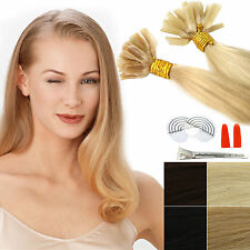 1g keratin bonding extensions 100% human hair remy pieces Strands 45 50 55cm