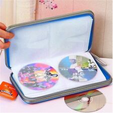 1pc 80x Disc CD DVD Portable Storage Case Wallet Hard Box Bag Holder Hard AD