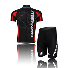 Pro Team Mens Cycling Jerseys Bicycle Short Sleeve Cycling Jersey Sets With Pad