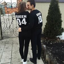2016 Women Men Lovers' Couple Clothes Hoodies Sweater Hooded Jumper Pocket Top