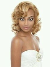 Synthetic Full Lace Wig Front & Rear Madonna by Janet Collection.