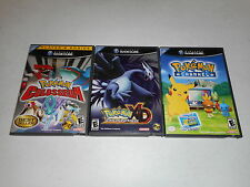Pokemon XD: Gale of Darkness, Colosseum & Channel Rare (Nintendo GameCube) Games