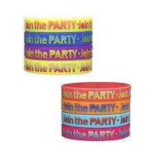Zumba Fitness Ready For Lift Off Rubber Bracelets! Choose Between 8 Colors!!