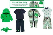 NWT Gymboree Brand New Baby Frog and Snail  Sz: 0-3, 3-6, 6-12, 12-18 months