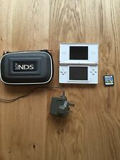 nintendo ds with Super Mario bros, Charger And Case (bundle)