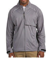 Adidas Golf ClimaProof Waterproof Seamseal Wind Storm Soft Shell Jacket Gray 2XL