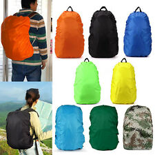 35/45/60/70/80L Waterproof Hiking Backpack Camping Rucksack Bag Dust Rain Cover