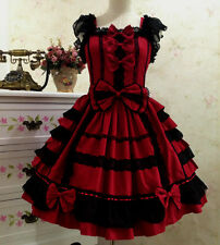 Japanese Party Dress Gothic Lolita Dress Christmas Sweet Cosplay Dress Costume