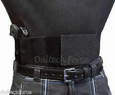 "Belly Band Gun Holster 4"" Wide CCW 2 Color Options- Size 4X - 5X"