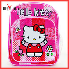 "Hello Kitty Mini BackPack 10"" Girl Woman SANRIO ORINGINAL Kid Small School BAG"