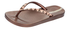 Ipanema Metallic III Womens Flip Flops / Sandals - Bronze Gold - 81454
