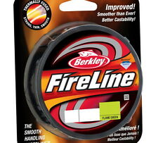 NEW Berkley Fireline Fused Original Flame Green Fishing Line 125 Yards