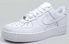 Nike AIR FORCE 1(GS) LOW 314192-117 'WHITE/WHITE' sz4.5Y-7Y