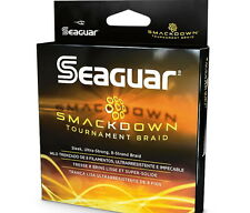 NEW Seaguar Smackdown Braided Fishing Line 150 yards Green Color 7 SIZES